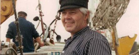 Altes Bild vom lächelnden Gerhard Schmidt